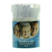 Enfresh Floss Toothpicks 50 Pieces