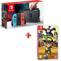 Nintendo Switch Console + Ben10