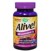 Nature's Way Alive Women's Gummy Vitamins 60 Gummies