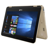 "Asus 2 in 1 TP203 N3350 2GB RAM 500GB Hard Disk 11.6"" Gold"