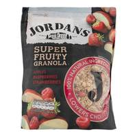 Jordans Super Fruity Granola Apples, Raspberries & Strawberries 550g
