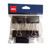 Deli Binder Clip 51Mm 5Pcs