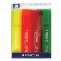 Staedtler Hi-Lighter Text surfer X4