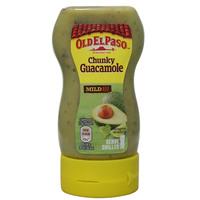 Old El Paso Chunky Guacamole Mild 240g