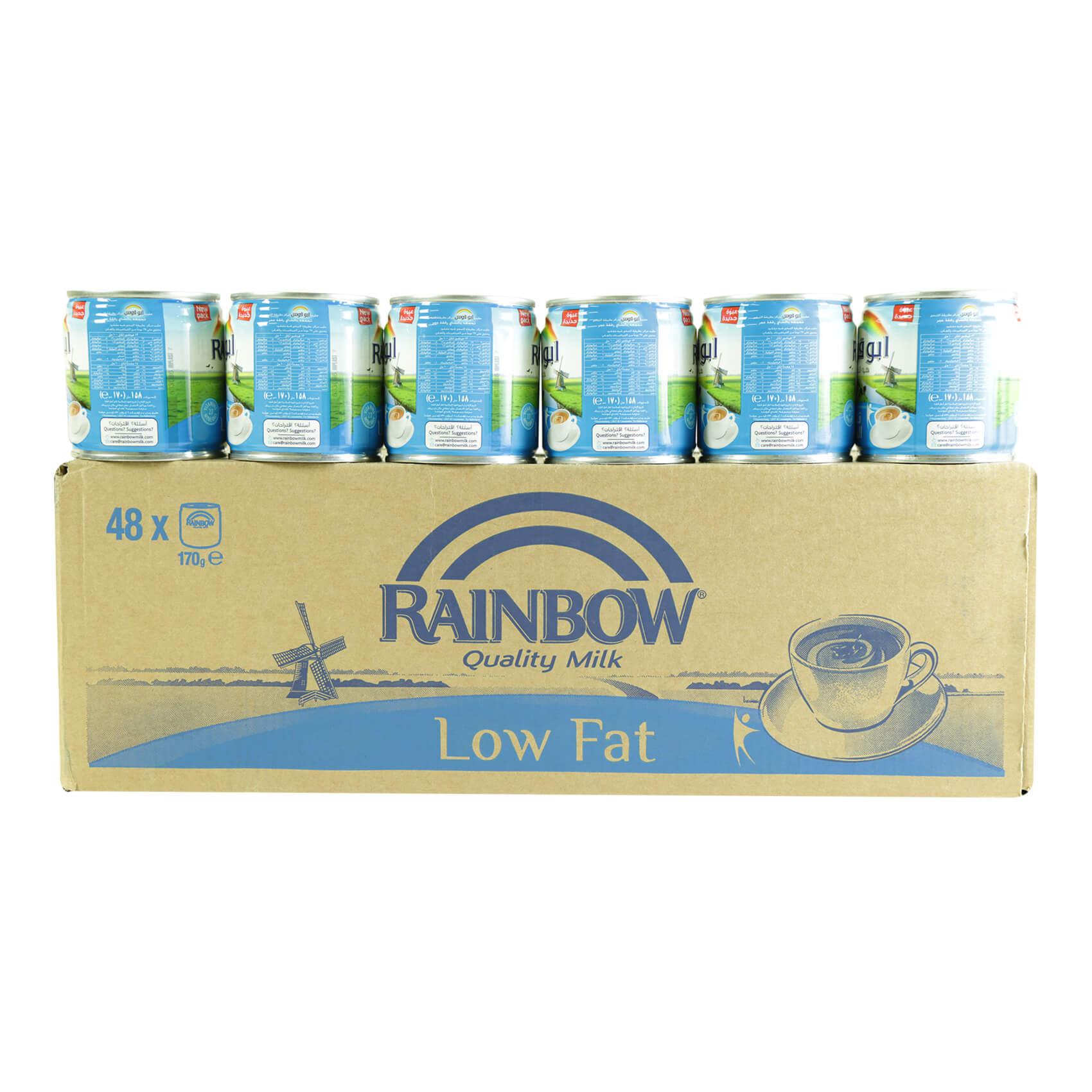 RAINBOW EVAP MILK LIGHT 170GRX48
