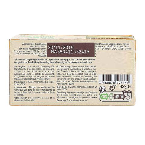 Carrefour-Bio-Organic-Tea-Bag-Dar-Jeeling-20's