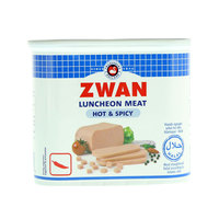 Zwan Luncheon Meat Hot & Spicy 340g