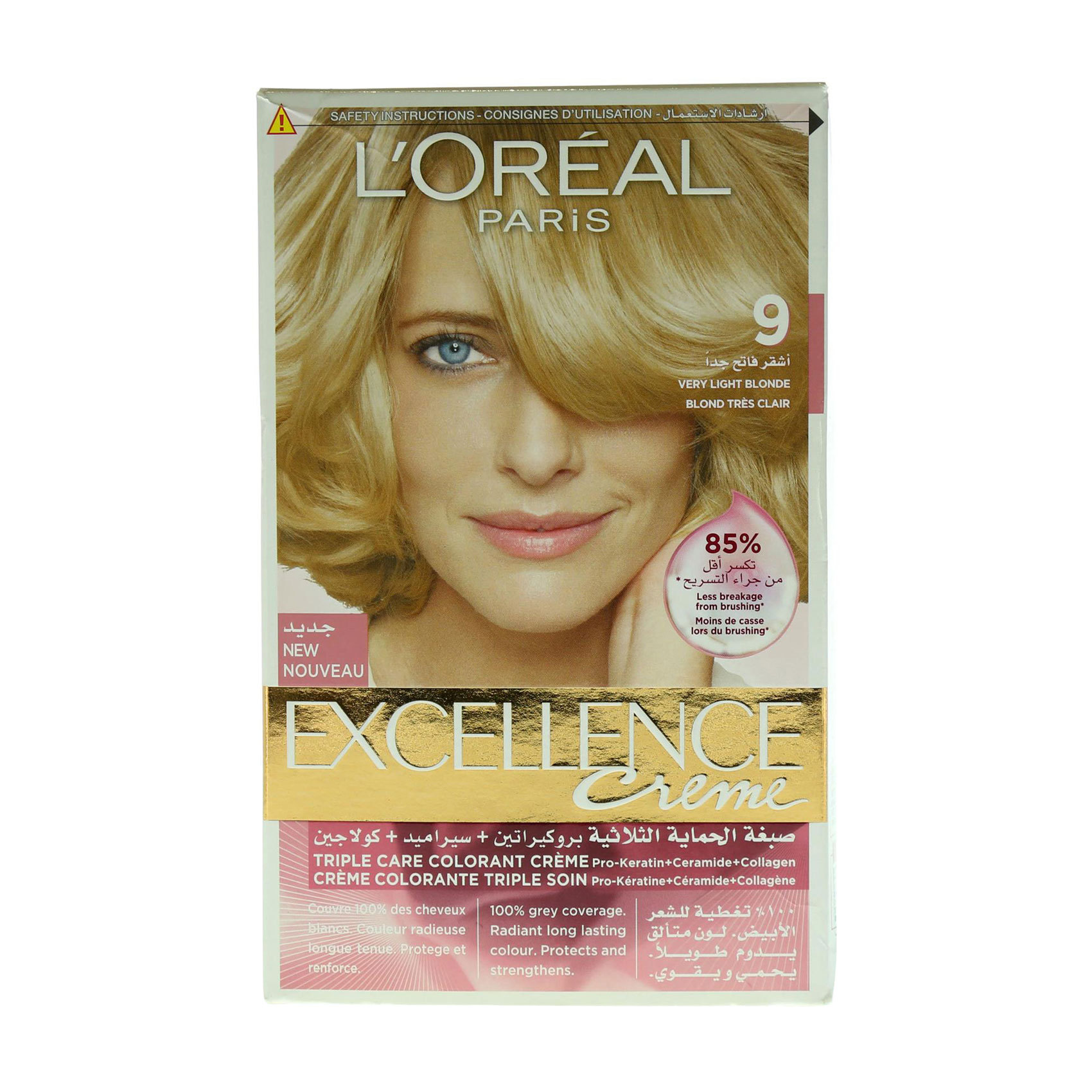 EXCELLENCE 9 VERY LIGHT BLONDE