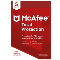 McAfee Total Protection 2018 5 Device