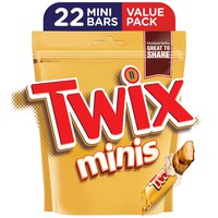 Twix® Minis Chocolate Mini Bars Pouch 440g (22 pcs)