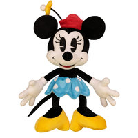 Disney Plush Retro Minnie Blue Skirt 10""