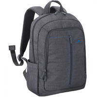 "RivaCase Canvas BackPack 7560 For 15.6""Grey"
