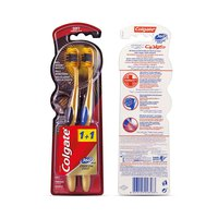 Colgate Toothbrush 360 Charcoal Gold Soft 1+1 Free