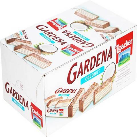 Buy Loacker Gardena Coconut Wafers 38g x25 Online - Shop Loacker on Carrefour UAE