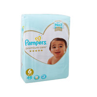 Pampers Premium Care Baby Diaper Medium Size 6X36