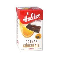 Halter Candy Chocolate & Orange 36GR