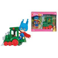 Simba Masha Super hero With train