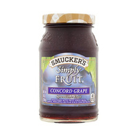 Smucker''s Simply Fruit Concord Grape 10OZ