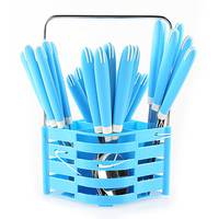 Cutlery  Set  24Pcs Blue