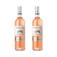 Chateau Kefraya Les Breteches Rose Wine 2X75CL +2Glass