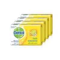 ديتول صابون منعش 120 جرام - 2+2 مجانا