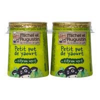 Michel & Augustin Lemon Yoghurt 125g x2