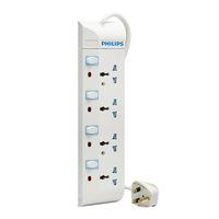 Philips 4Way 2M Universal Power Bar