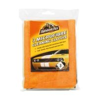 Armorall Microfiber Cleaning Cloth Pack Of 3 Pieces
