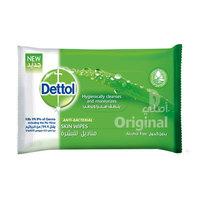 Dettol Anti Bacterial Original Skin Wipes 10 Wipes