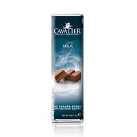 Cavalier Chocolate Bar Milk No Sugar Added 44GR