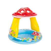 INTEX Inflatable Baby Pool Swimming Float 102 X 89 Cm Mushroom