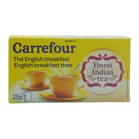 Carrefour The English Breakfast 25 Tea Bags