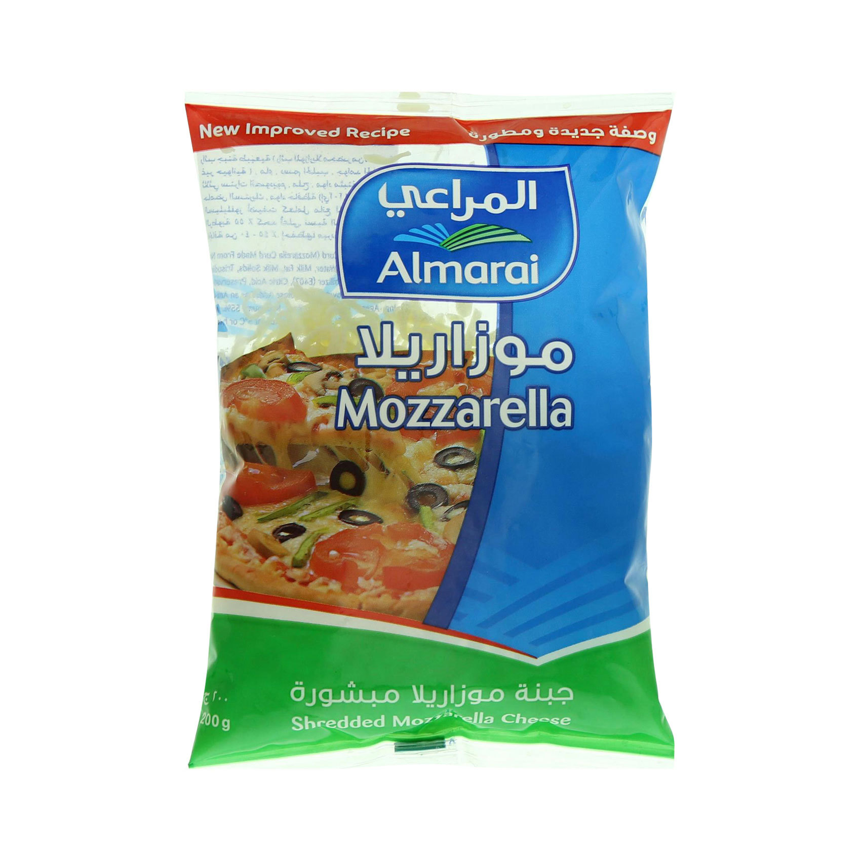 AL MARAI SHREDDED MOZZARELLA 200G