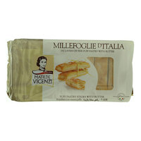 Matilde Vicenzi Puff Pastry Sticks with Butter 125g