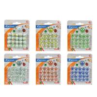 Simba Be Fun 21Pcs Marbles In Card (Assorted)
