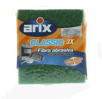 Arix Classic Fibra Abrasiva Scouring Pad 3 Pieces