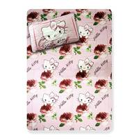Hello Kitty Flat Sheet with Pillow Case