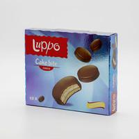 لوبو كيك مغطى بالشوكولاته 12 حبة 25 جرام