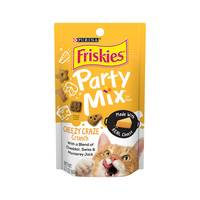 Purina Friskies Party Mix Cat Treats Cheezy Crunch 60 g