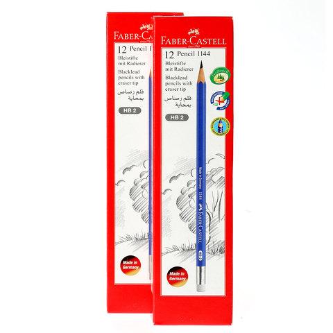 Faber-Castell-Black-Led-Pencil24-+Sharpener-+Eraser