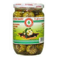 Lebanese Dairy Co. Labneh Chtoora Oil & Thyme Ball 600g