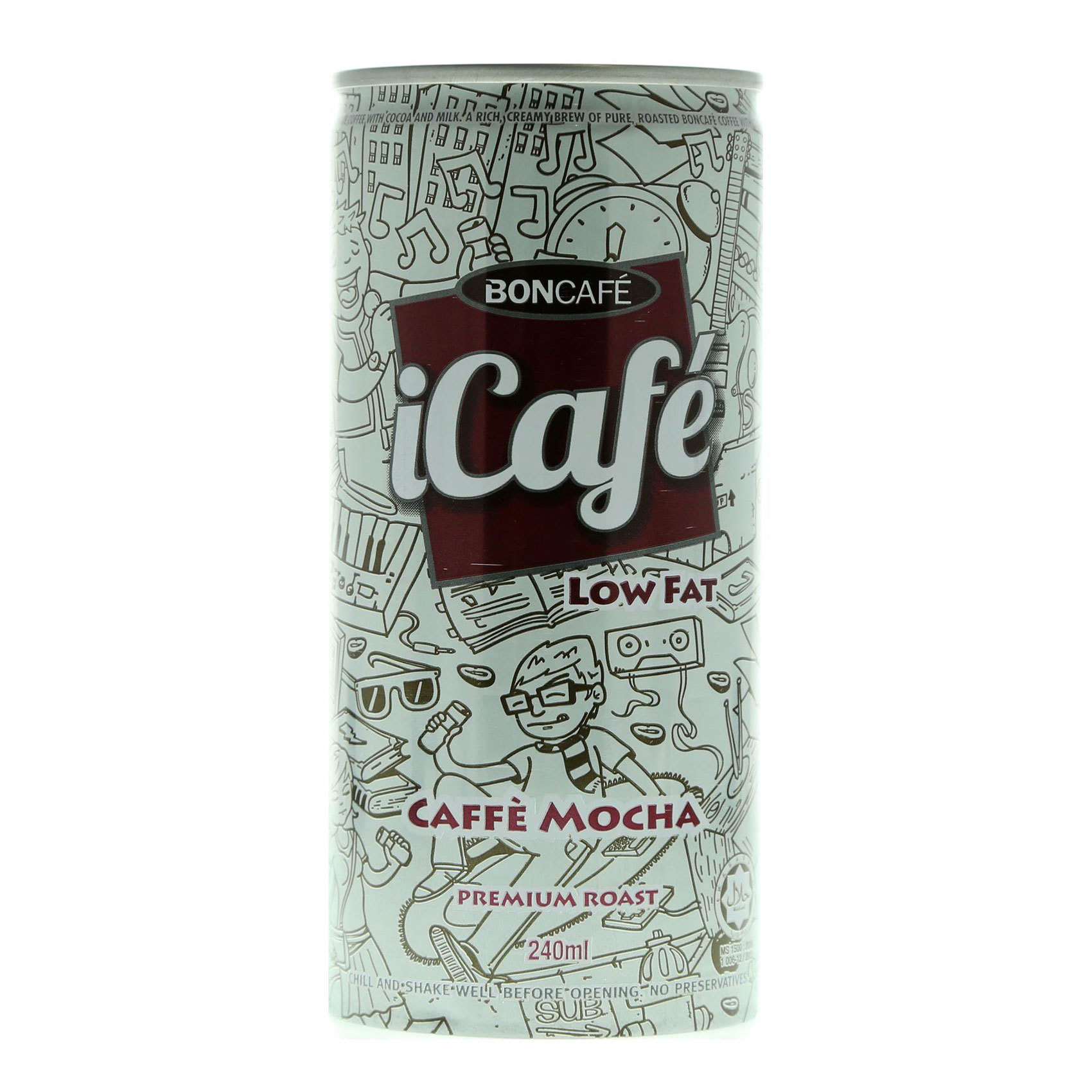 ICAFE ICED MOCHA LOW FAT 250ML
