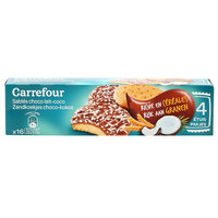 Carrefour Biscuit Coated with Milk Chocolate & Coconut 200g
