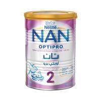 نستله نان أوبتي برو حليب أطفال المرحله الثانيه مدعم بالحديد 400  جرام