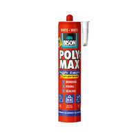 Bison Poly Max High Tack Express White 425G