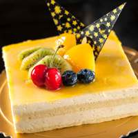 Small Mango Mousse Cake 6-8 Persons