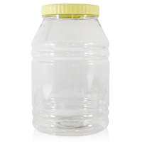 Sunpet Plastic  Clear Jar 6000Ml