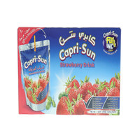 Capri-Sun Strawberry Drink 200mlx10