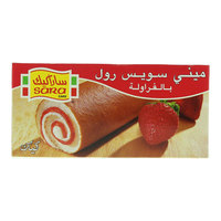 Sara Cake Mini Swiss Roll Strawberry 20gx20