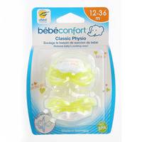 Bebeconfort Classic Physiological Dummies Silicone (12 -36M) x2